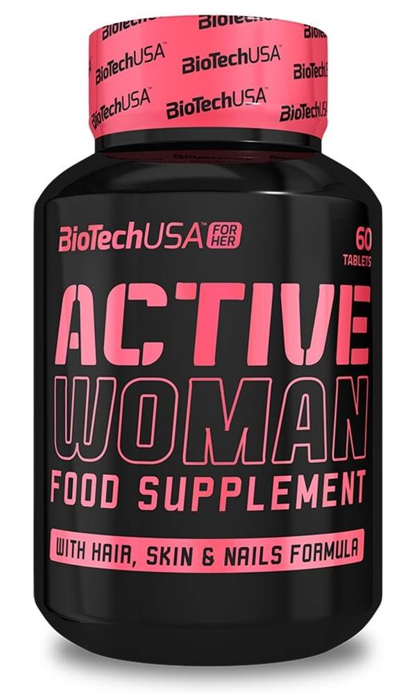 Biotech USA Biotech Active Woman 60 tabliet