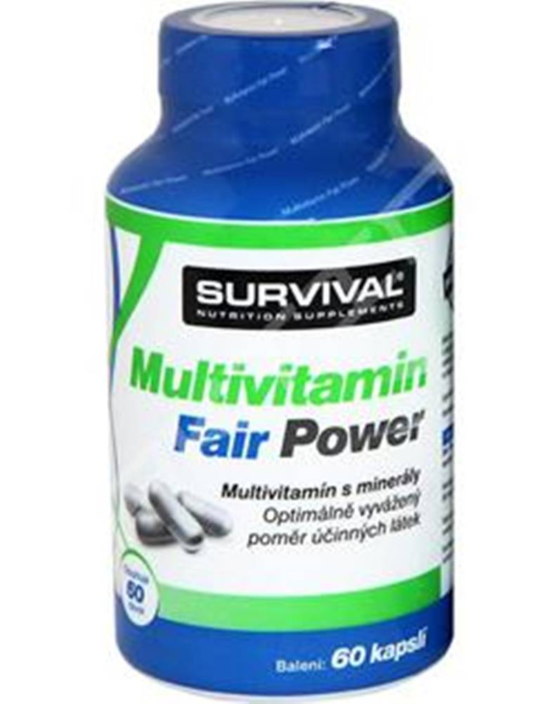 Survival Survival Multivitamin Fair Power 60 kapsúl 60kps.