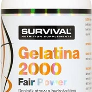 Survival Gelatina 2000 Fair Power 150 kapsúl